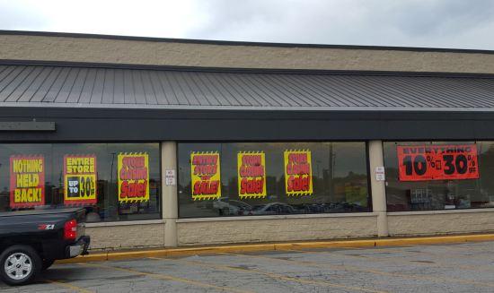 Store Closing Sale.