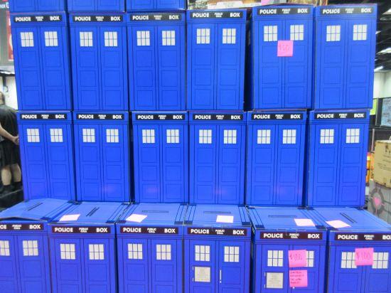 TARDISes!
