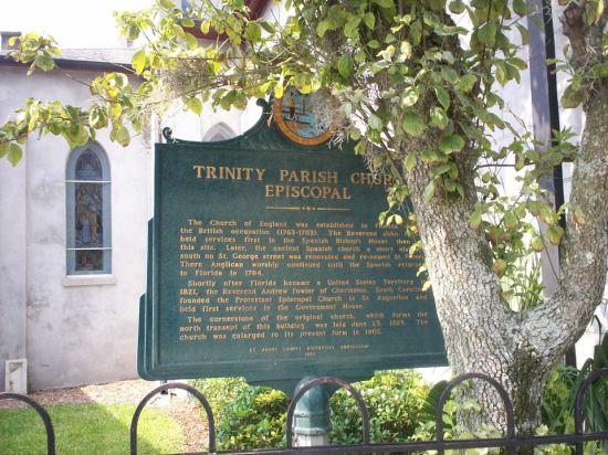 Trinity Parish Church!