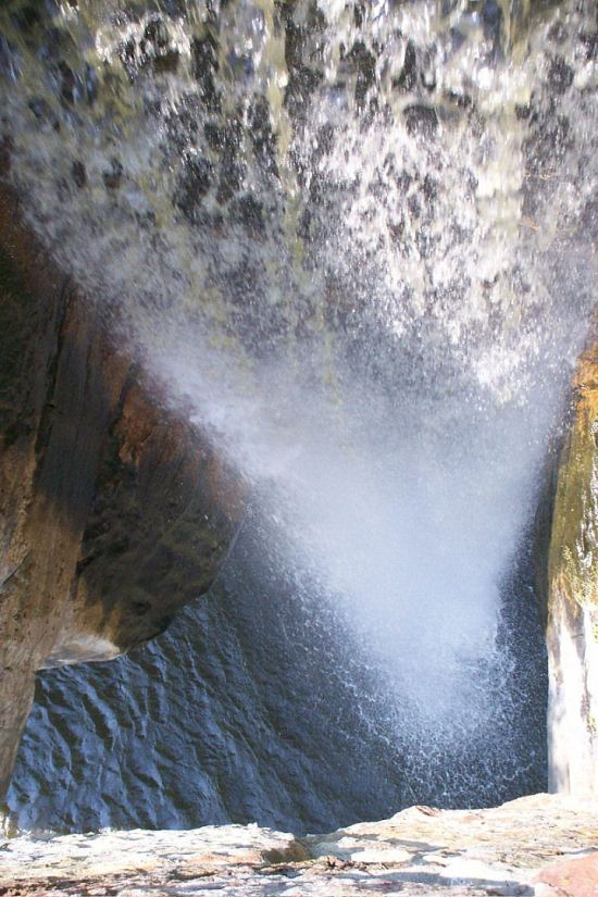 Waterfall from Above!