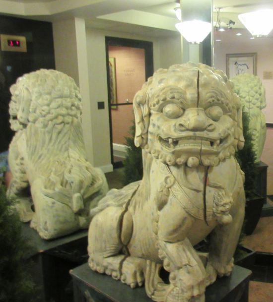 Chinese dragon-dog!