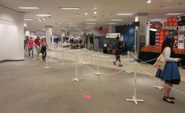 entrance line!