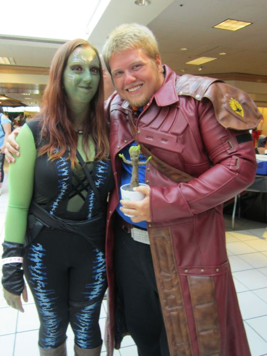 Gamora + Star-Lord!
