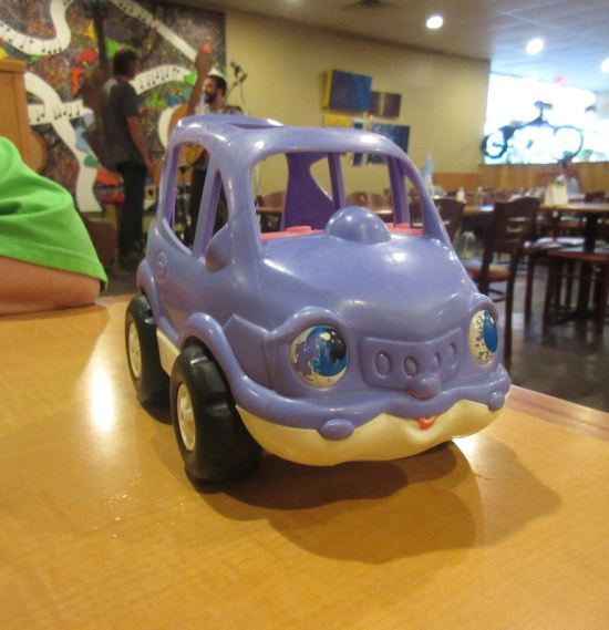 Purple Car!