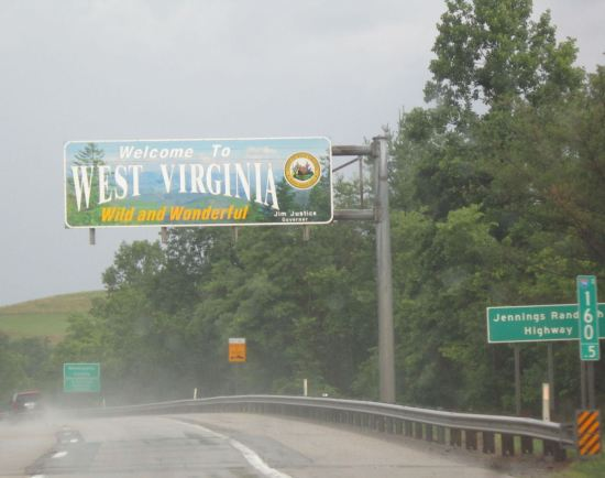Welcome to West Virginia!