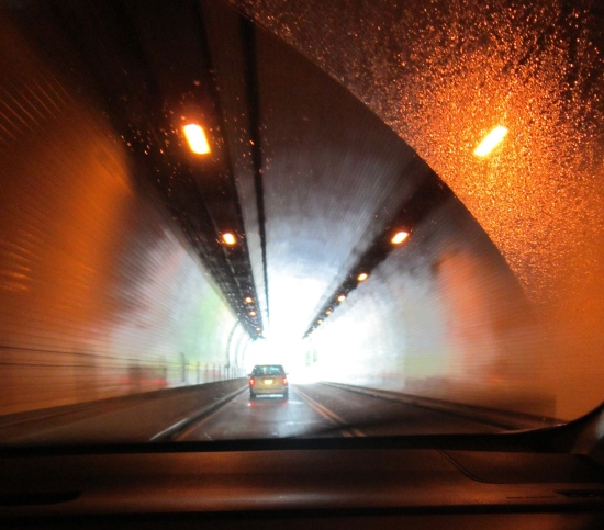 Wheeling Tunnel!