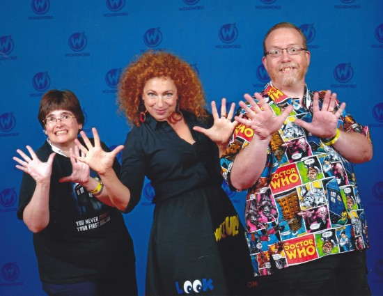 Alex Kingston!