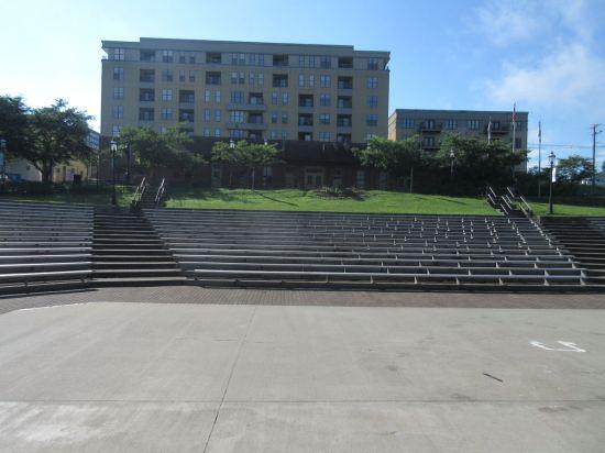 amphitheater view!