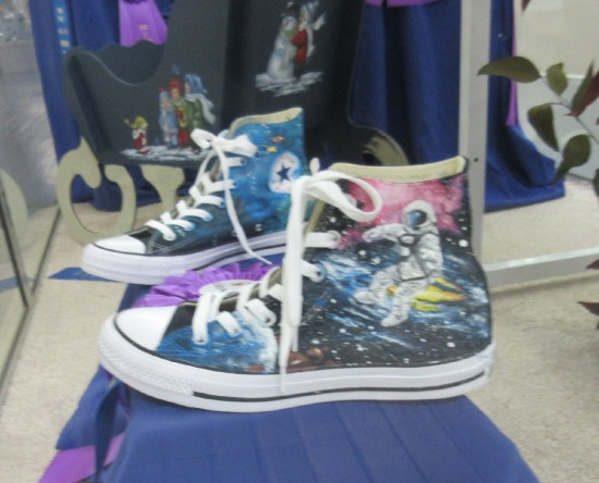 Astronaut Shoes!