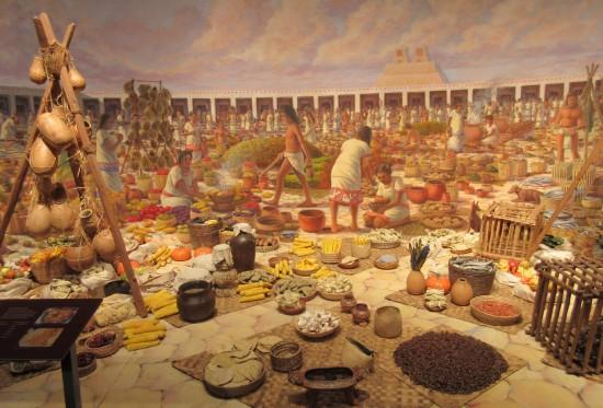 Aztec Market!