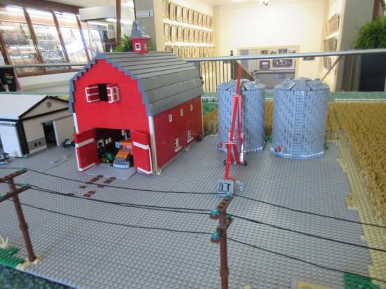 Barn + silos!