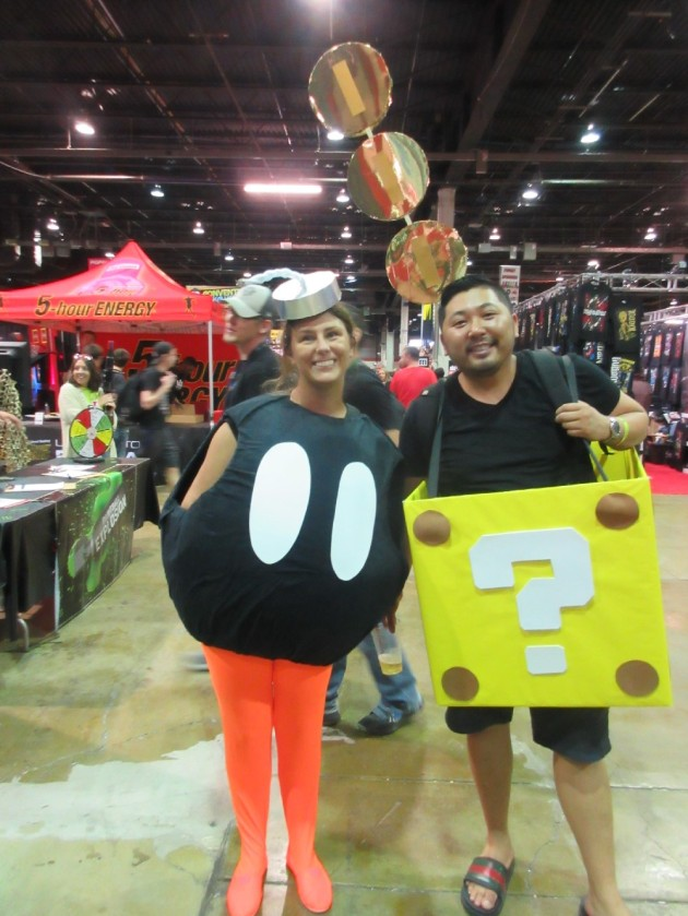 Bob-Omb + Gold Brick!