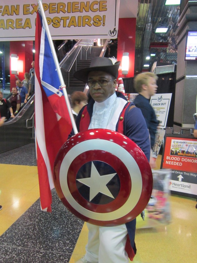 Captain America Revolution!