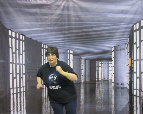 Death Star Jogging!