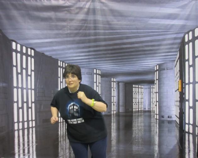 Death Star Jogging!