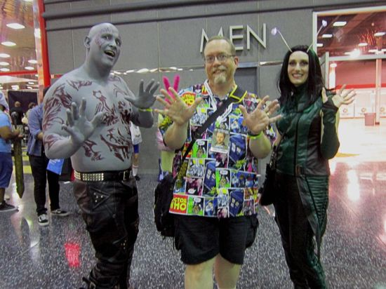 Drax + Gamora!