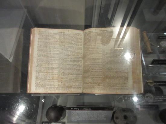 Dunker Church Bible!