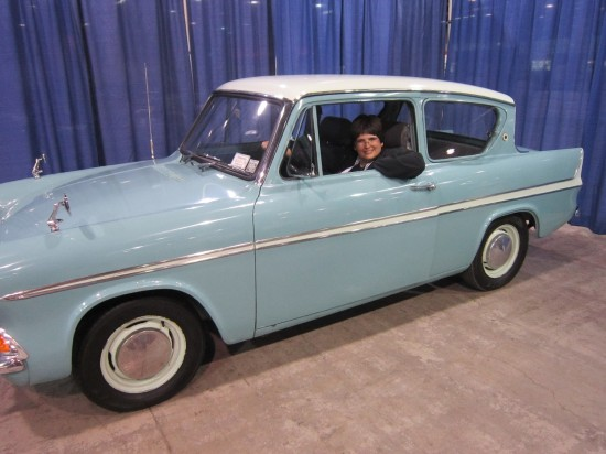 Flying Ford Anglia!