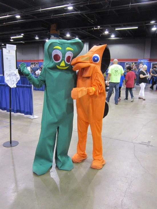 Gumby + Pokey!