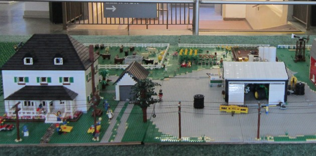 Lego Small Town!