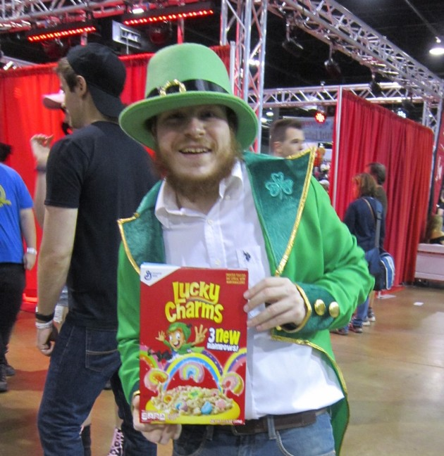 Lucky the Leprechaun!