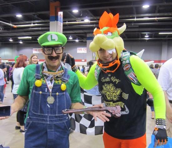 Luigi + Bowser!