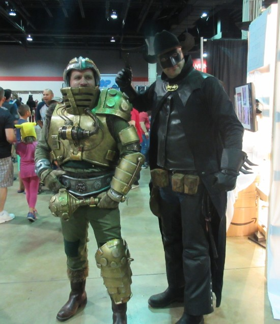 Man-at-Arms and Wild West Batman!