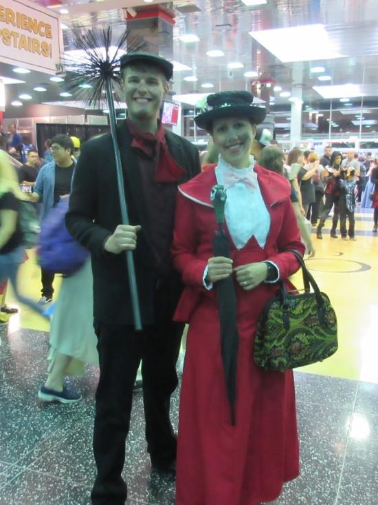 Mary Poppins + Bert!