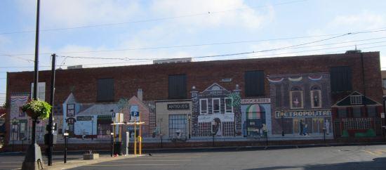 Morgantown mural!