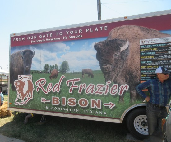Red Frazier Bison!