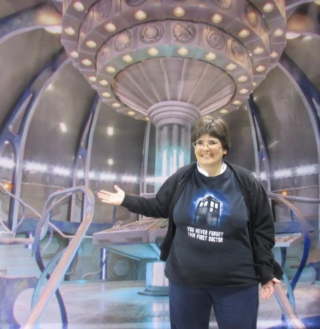 TARDIS Flat!
