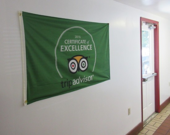 TripAdvisor banner!