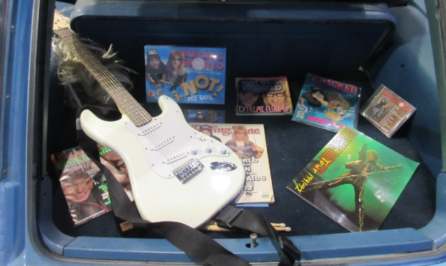 Wayne's World souvenirs!