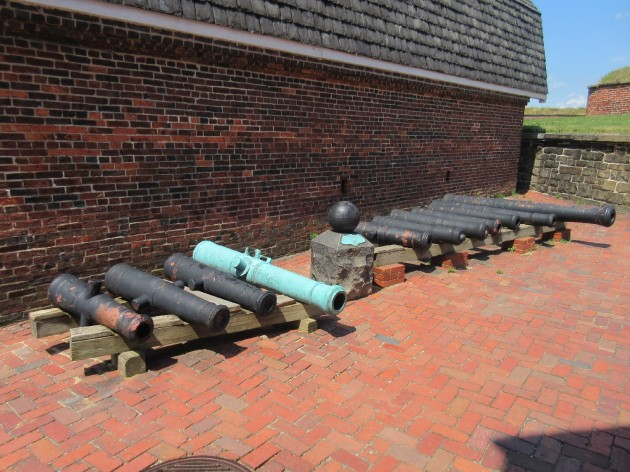 Cannons inside!
