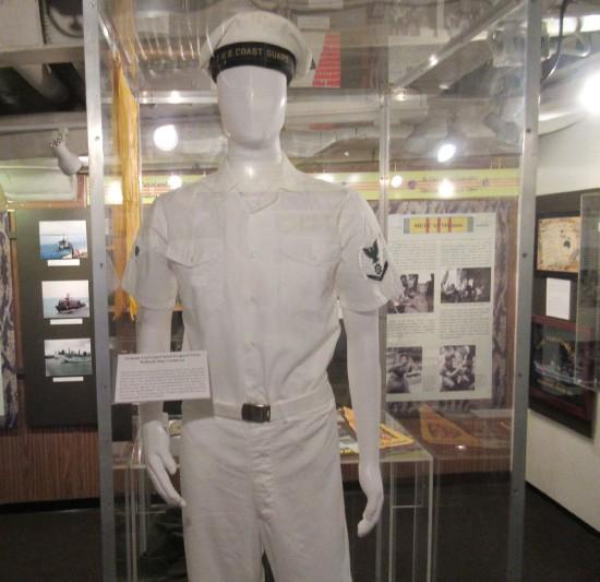 Coast Guard uniform!