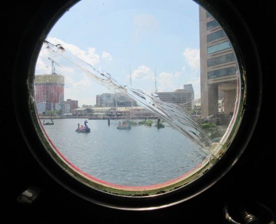Cracked Porthole!