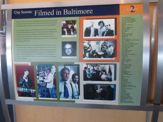 Filmed in Baltimore!