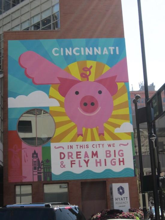 Flying Pig Sign!