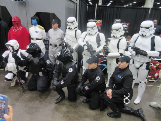 Imperial Officers!