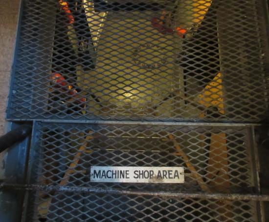 Machine Shop Area!