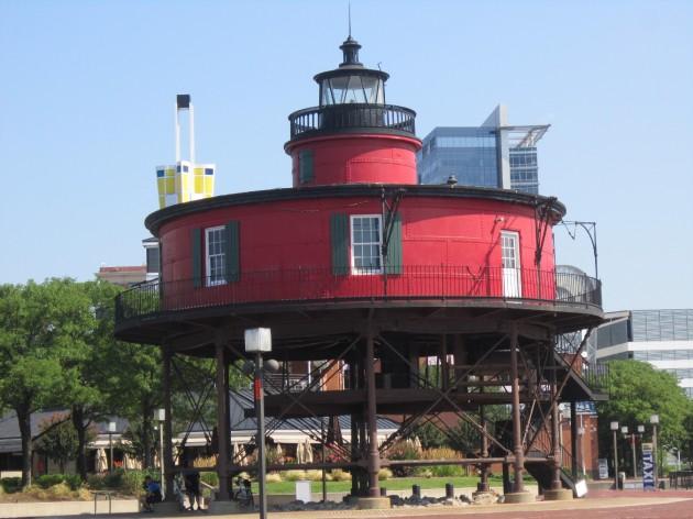 Seven Foot Knoll Lighthouse!