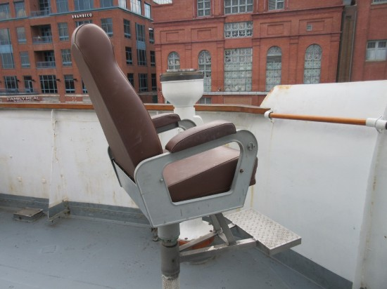 Taney deck chair!