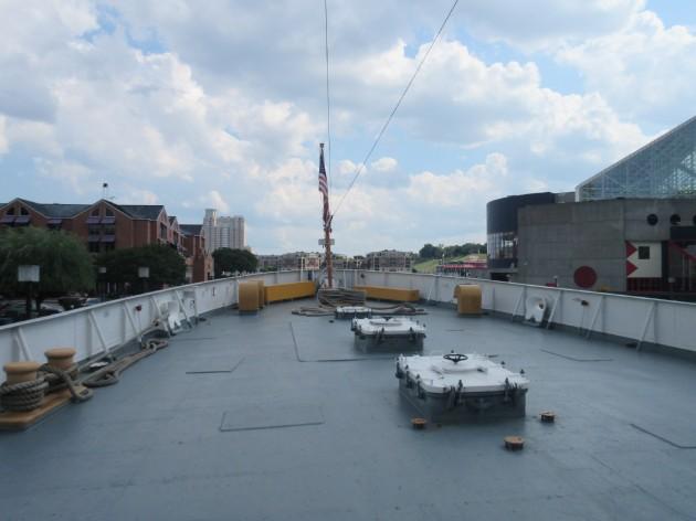 Taney upper deck!