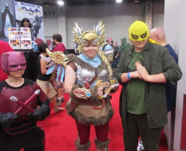 Thor + Iron Fist!