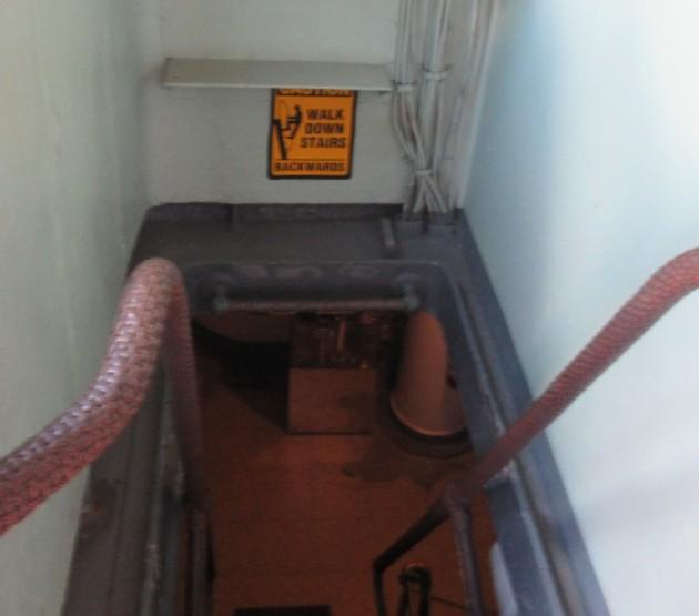 Walk Down Stairs!
