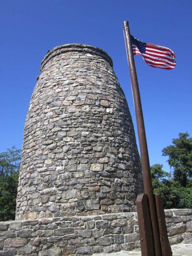 Washington Monument + Flag!