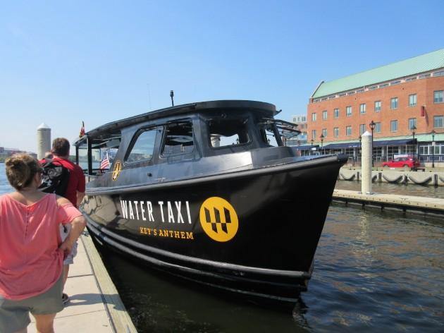 Water taxi closeup!