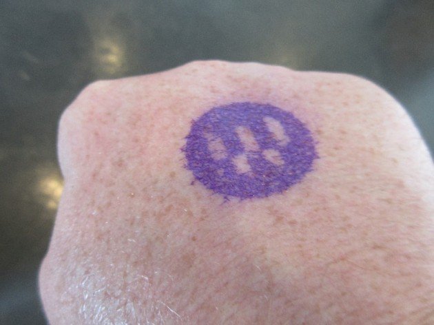 Water Taxi Stamp!