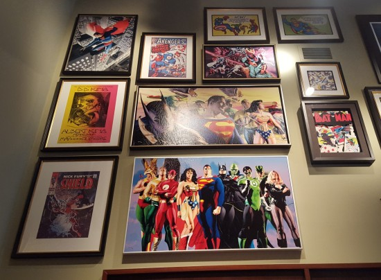 Alex Ross paintings!