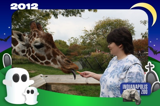 Anne + Giraffe!